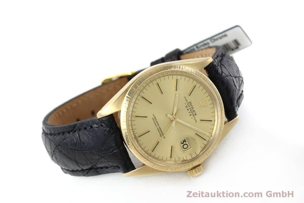 montre de luxe d occasion Rolex Date or 18 ct automatique Kal. 1570 Ref. 1511  | 151845 03