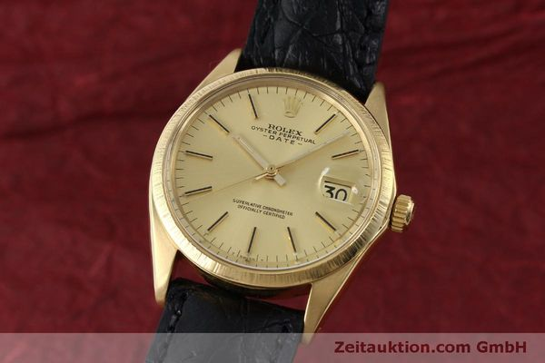 montre de luxe d occasion Rolex Date or 18 ct automatique Kal. 1570 Ref. 1511  | 151845 04