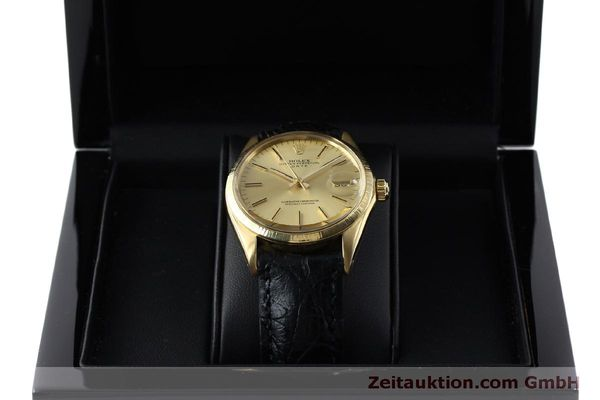 montre de luxe d occasion Rolex Date or 18 ct automatique Kal. 1570 Ref. 1511  | 151845 07