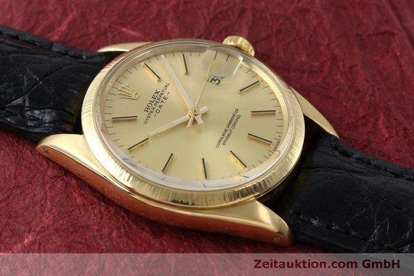 montre de luxe d occasion Rolex Date or 18 ct automatique Kal. 1570 Ref. 1511  | 151845 13