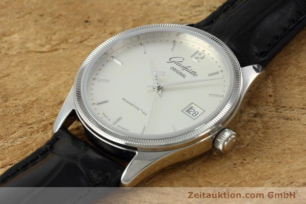 Used luxury watch Glashütte Senator steel automatic Kal. GUB 10-30 Ref. 11033030404  | 151846 01