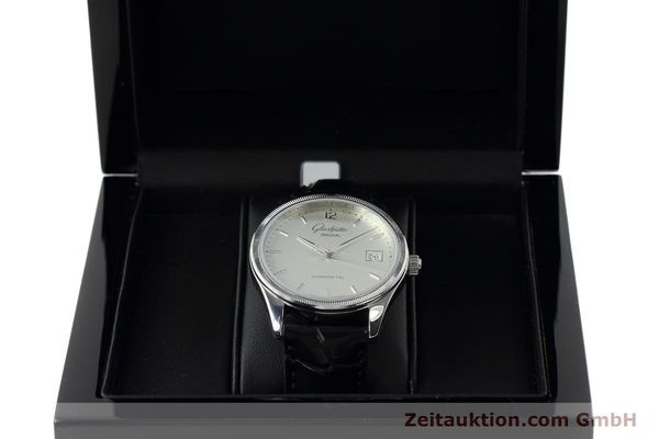 Used luxury watch Glashütte Senator steel automatic Kal. GUB 10-30 Ref. 11033030404  | 151846 07