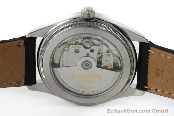 Used luxury watch Glashütte Senator steel automatic Kal. GUB 10-30 Ref. 11033030404  | 151846 09