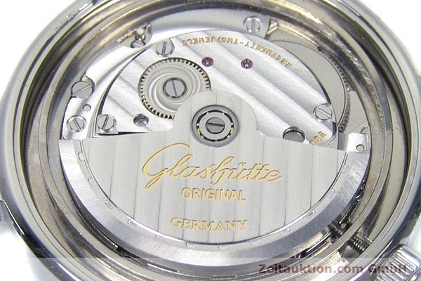 Used luxury watch Glashütte Senator steel automatic Kal. GUB 10-30 Ref. 11033030404  | 151846 10