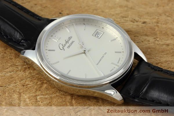 Used luxury watch Glashütte Senator steel automatic Kal. GUB 10-30 Ref. 11033030404  | 151846 17