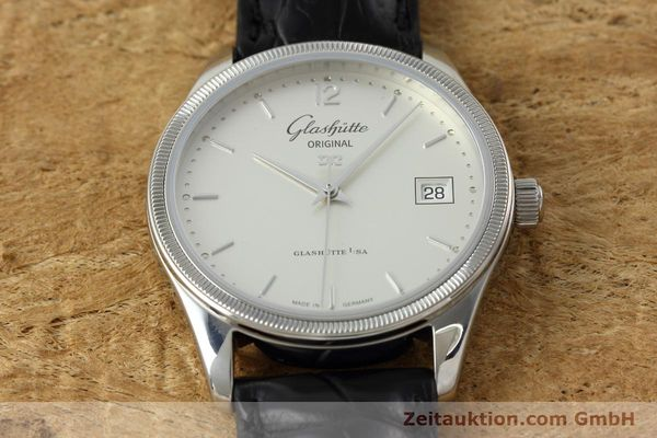 Used luxury watch Glashütte Senator steel automatic Kal. GUB 10-30 Ref. 11033030404  | 151846 18