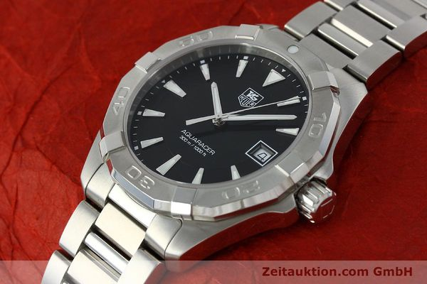 Used luxury watch Tag Heuer Aquaracer steel quartz Kal. Ronda 6003 Ref. WAY1110  | 151852 01
