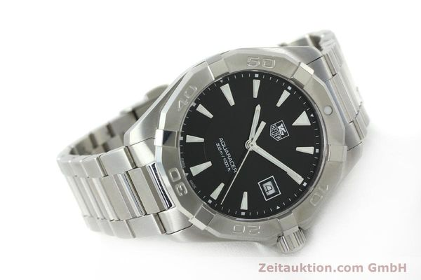 Used luxury watch Tag Heuer Aquaracer steel quartz Kal. Ronda 6003 Ref. WAY1110  | 151852 03