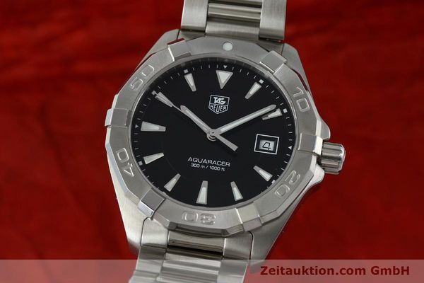 Used luxury watch Tag Heuer Aquaracer steel quartz Kal. Ronda 6003 Ref. WAY1110  | 151852 04