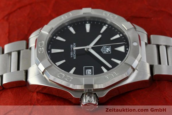 Used luxury watch Tag Heuer Aquaracer steel quartz Kal. Ronda 6003 Ref. WAY1110  | 151852 05