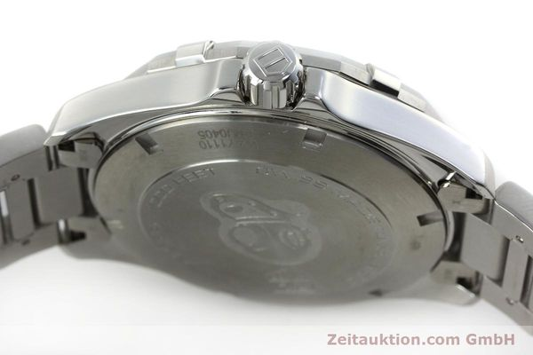 Used luxury watch Tag Heuer Aquaracer steel quartz Kal. Ronda 6003 Ref. WAY1110  | 151852 10