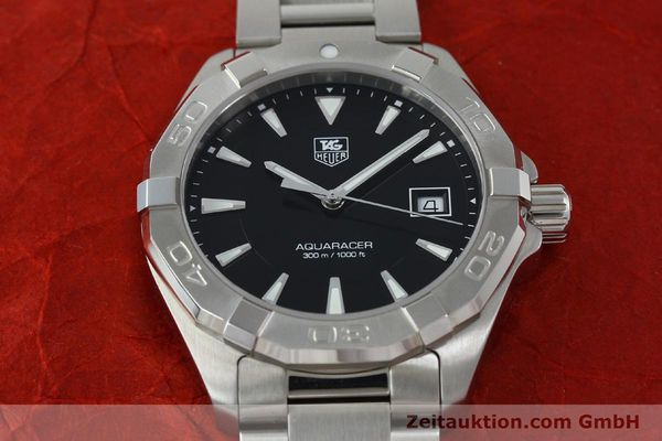Used luxury watch Tag Heuer Aquaracer steel quartz Kal. Ronda 6003 Ref. WAY1110  | 151852 16