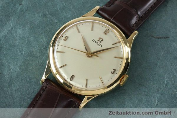 Used luxury watch Omega * 18 ct gold manual winding Kal. 285  | 151853 01