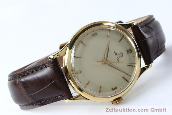 Used luxury watch Omega * 18 ct gold manual winding Kal. 285  | 151853 03