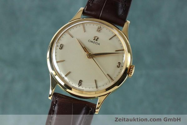 Used luxury watch Omega * 18 ct gold manual winding Kal. 285  | 151853 04