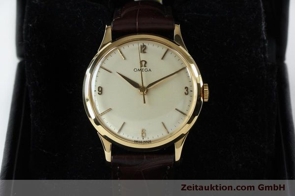 Used luxury watch Omega * 18 ct gold manual winding Kal. 285  | 151853 07