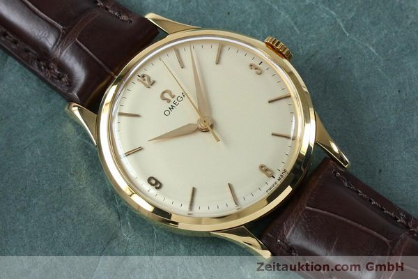 Used luxury watch Omega * 18 ct gold manual winding Kal. 285  | 151853 13