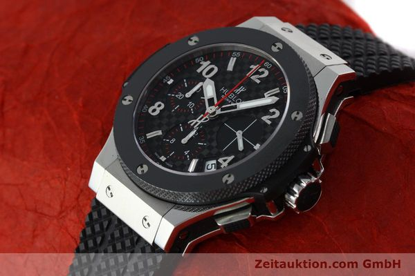 Used luxury watch Hublot Big Bang chronograph steel / titanium automatic Kal. ETA 2894-2 Ref. 341.SB.131.RX  | 151859 01