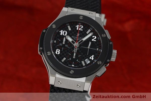 Used luxury watch Hublot Big Bang chronograph steel / titanium automatic Kal. ETA 2894-2 Ref. 341.SB.131.RX  | 151859 04
