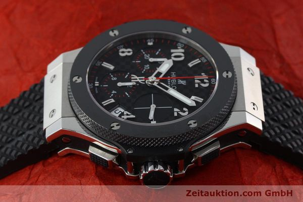 Used luxury watch Hublot Big Bang chronograph steel / titanium automatic Kal. ETA 2894-2 Ref. 341.SB.131.RX  | 151859 05