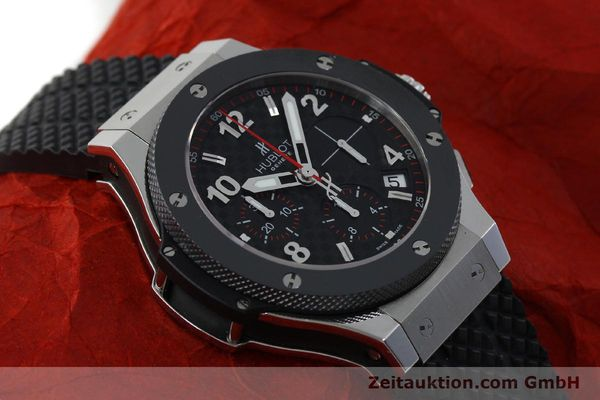 Used luxury watch Hublot Big Bang chronograph steel / titanium automatic Kal. ETA 2894-2 Ref. 341.SB.131.RX  | 151859 15