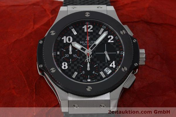 Used luxury watch Hublot Big Bang chronograph steel / titanium automatic Kal. ETA 2894-2 Ref. 341.SB.131.RX  | 151859 16