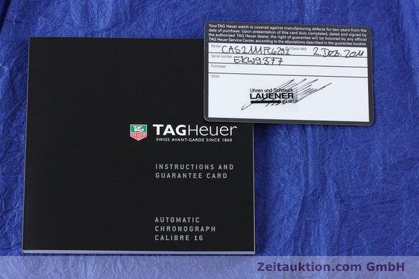 Used luxury watch Tag Heuer Carrera chronograph steel automatic Kal. 16 Ref. EKW9377  | 151863 08