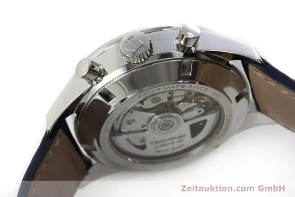 Used luxury watch Tag Heuer Carrera chronograph steel automatic Kal. 16 Ref. EKW9377  | 151863 11