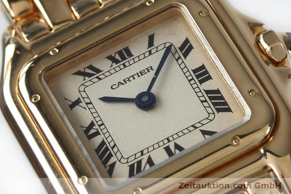 Used luxury watch Cartier Panthere 18 ct gold quartz Kal. 057  | 151866 02
