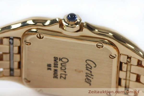 Used luxury watch Cartier Panthere 18 ct gold quartz Kal. 057  | 151866 08
