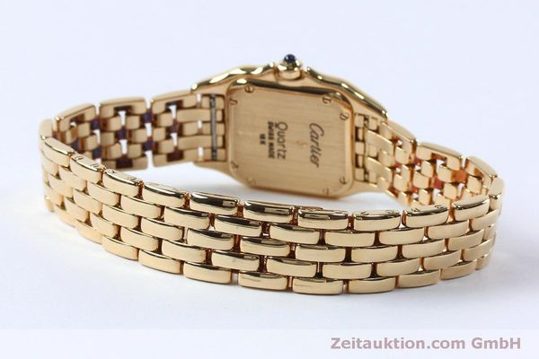 Used luxury watch Cartier Panthere 18 ct gold quartz Kal. 057  | 151866 10