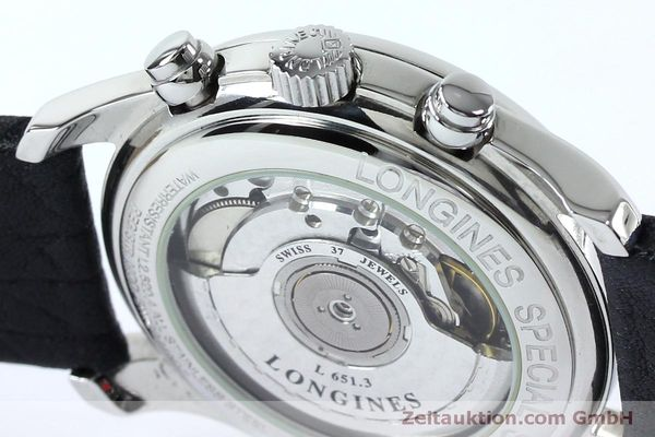 Used luxury watch Longines Avigation chronograph steel automatic Kal. L651.3  ETA 2824-2 Ref. L2.620.4  | 151874 08