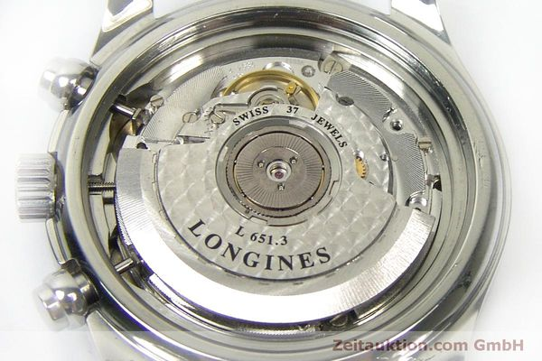 Used luxury watch Longines Avigation chronograph steel automatic Kal. L651.3  ETA 2824-2 Ref. L2.620.4  | 151874 09