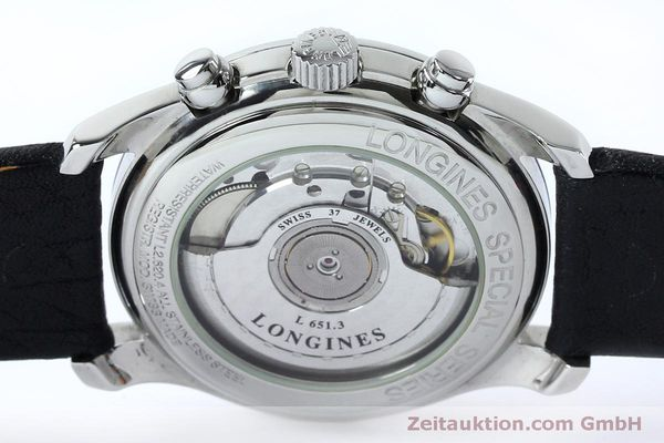 Used luxury watch Longines Avigation chronograph steel automatic Kal. L651.3  ETA 2824-2 Ref. L2.620.4  | 151874 10