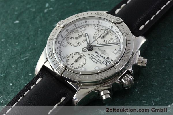 Used luxury watch Breitling Chronomat chronograph steel automatic Kal. B13 ETA 7750 Ref. A13357  | 151881 01