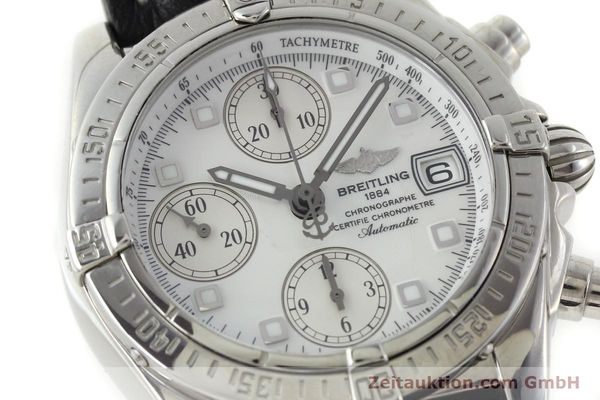 Used luxury watch Breitling Chronomat chronograph steel automatic Kal. B13 ETA 7750 Ref. A13357  | 151881 02