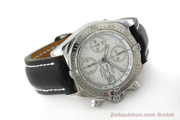 Used luxury watch Breitling Chronomat chronograph steel automatic Kal. B13 ETA 7750 Ref. A13357  | 151881 03