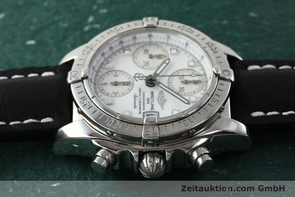 Used luxury watch Breitling Chronomat chronograph steel automatic Kal. B13 ETA 7750 Ref. A13357  | 151881 05