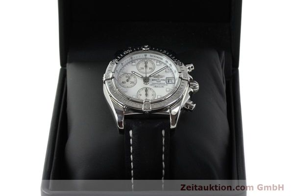 Used luxury watch Breitling Chronomat chronograph steel automatic Kal. B13 ETA 7750 Ref. A13357  | 151881 07