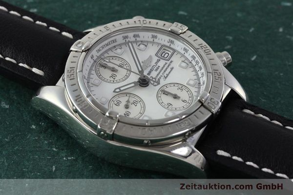Used luxury watch Breitling Chronomat chronograph steel automatic Kal. B13 ETA 7750 Ref. A13357  | 151881 14