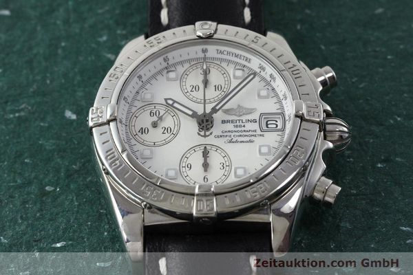 Used luxury watch Breitling Chronomat chronograph steel automatic Kal. B13 ETA 7750 Ref. A13357  | 151881 15
