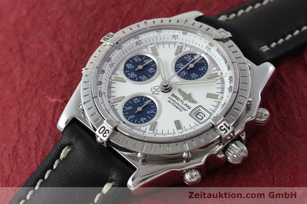 Used luxury watch Breitling Chronomat chronograph steel automatic Kal. C.1 Eta 7750 Ref. A13050.1  | 151883 01