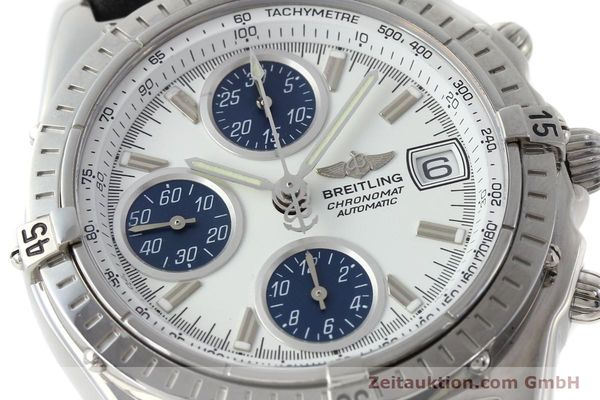 Used luxury watch Breitling Chronomat chronograph steel automatic Kal. C.1 Eta 7750 Ref. A13050.1  | 151883 02