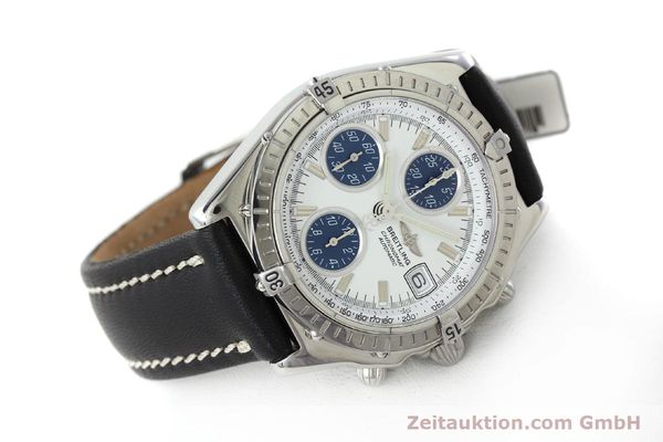Used luxury watch Breitling Chronomat chronograph steel automatic Kal. C.1 Eta 7750 Ref. A13050.1  | 151883 03