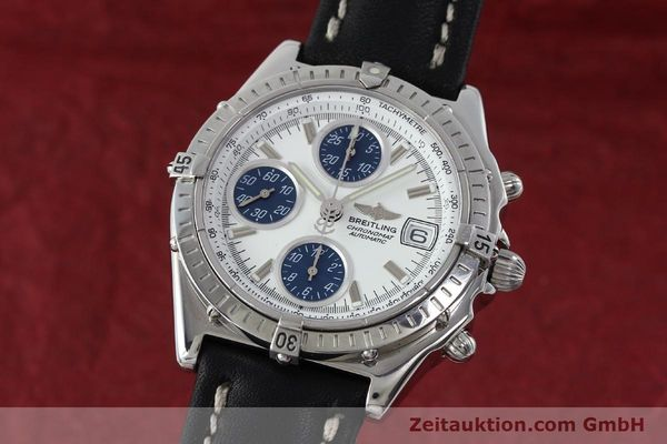 Used luxury watch Breitling Chronomat chronograph steel automatic Kal. C.1 Eta 7750 Ref. A13050.1  | 151883 04