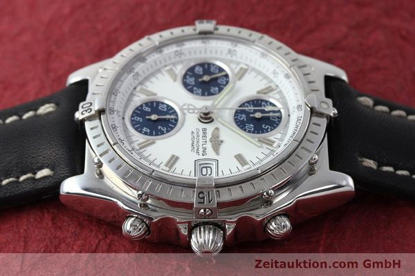 Used luxury watch Breitling Chronomat chronograph steel automatic Kal. C.1 Eta 7750 Ref. A13050.1  | 151883 05