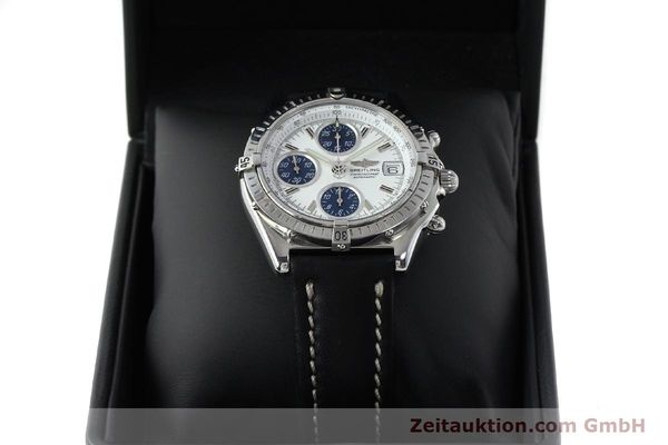 Used luxury watch Breitling Chronomat chronograph steel automatic Kal. C.1 Eta 7750 Ref. A13050.1  | 151883 07