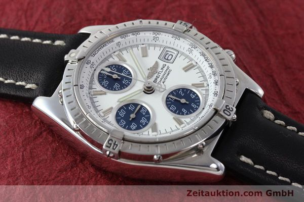 Used luxury watch Breitling Chronomat chronograph steel automatic Kal. C.1 Eta 7750 Ref. A13050.1  | 151883 14