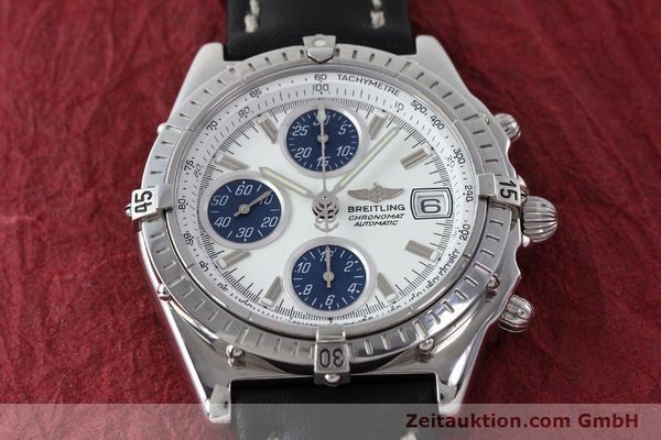 Used luxury watch Breitling Chronomat chronograph steel automatic Kal. C.1 Eta 7750 Ref. A13050.1  | 151883 15