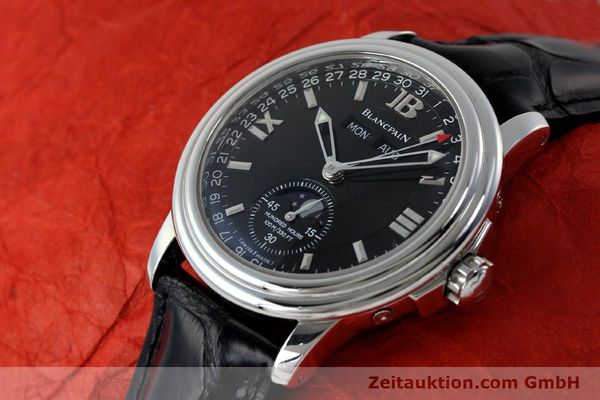 Used luxury watch Blancpain Leman steel automatic Kal. 6763  | 151885 01
